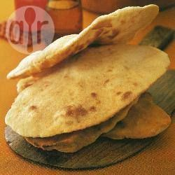 Naanbrood - very easy and fast (take sojayoghurt instead of cowyoghurt as this is for calves of course :-)