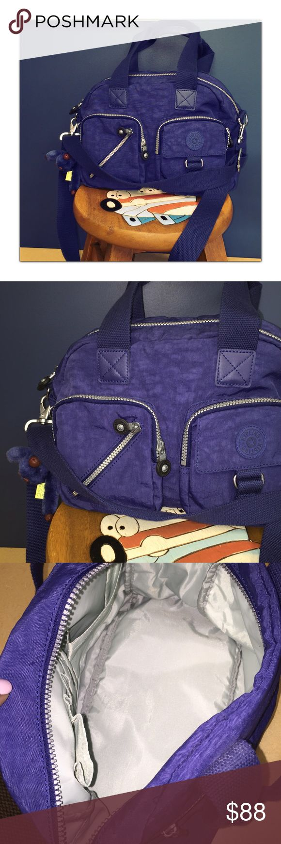 Kipling Default Medium Satchel Excellent condition. Has multiple compartment and loads of room! Such a great durable and spacious purse Kipling Bags Satchels