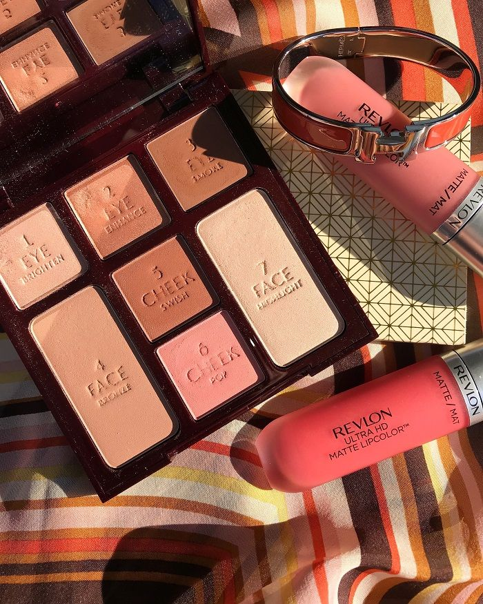 Charlotte Tilbury Instant Look In A Palette Beauty Glow Review Swatches Charlotte Tilbury Swatch Tilbury