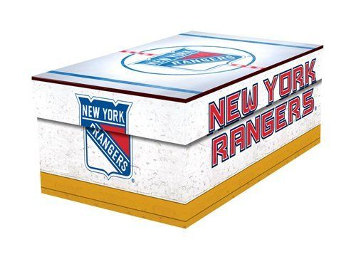 New York Rangers Souvenir Gift Box by That's My Ticket. $8.90. You are a New York Rangers fan. You got New York Rangers stuff. You need a place to put to it all. One place. One product. The Ticket Box is just the thing.The Ticket Box is perfect to store all your New York Rangers tickets as well as photos, pins, buttons, scorecards, hockey cards, and more. No more wondering where you stashed your New York Rangers souvenirs. Also, makes a great gift box and is id...