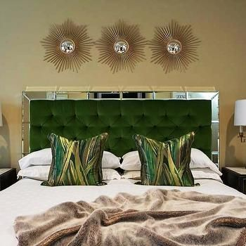 Mirrored Headboard - Design photos, ideas and inspiration. Amazing gallery  of interior design and decorating ideas of Mirrored Headboard in girl's  rooms, ...