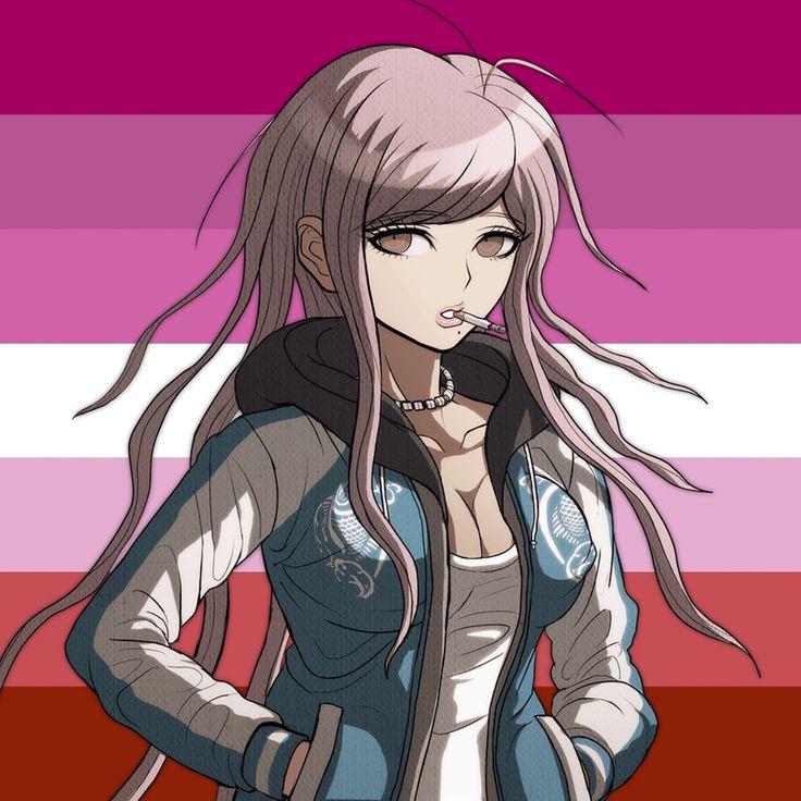 lesbian hiroko hagakure icon, feel free to use it
