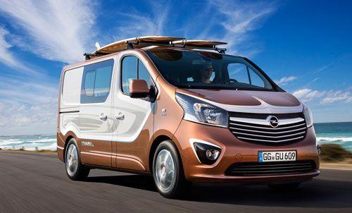 Opel Vivaro Surf: preparado para la aventura  Opel presenta en el Salón de Frankfurt el Vivaro Surf Concept, una versión del vehículo comercial preparada para disfrutar al máximo de todas las actividades deportivas y de ocio al aire libre que se te ocurran. Dispone de hasta seis plazas y de un espacio de carga más que generoso.