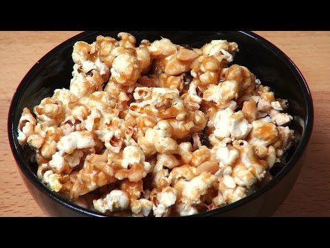 Caramel Nut Popcorn | One Pot Chef - YouTube
