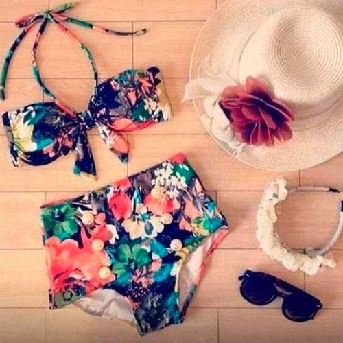 ¿Lista para vacaciones? Si vas al mar o tierra caliente, te recomendamos este outfit para lucir vintage con mucho estilo.