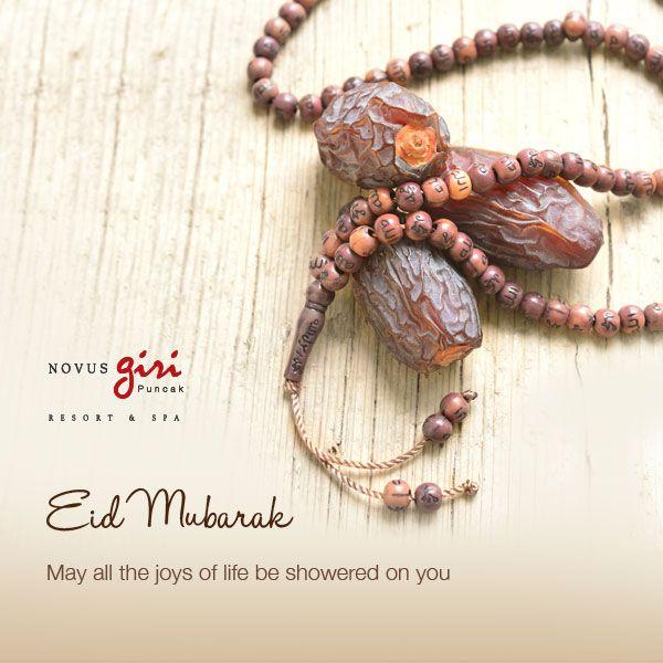 ID MUBARAK FROM NOVUS GIRI May all the joys of life be showered on you…..  http://novushotels.com/blog/2014/07/26/eid-mubarak-from-novus-giri/