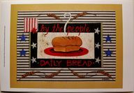 $23.49 American Food ART Print Americana Bread BY Wendy Russell |