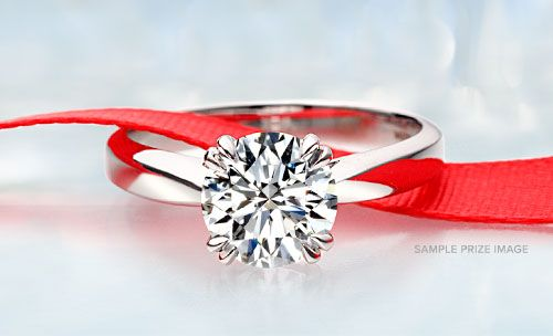 Ritani Sweepstakes Enter to win a stunning engagement ring