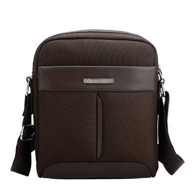Royal Rebirth !! New High Density Nylon&Pu Leather Men's Small Messenger