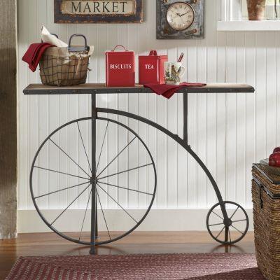 Penny Farthing Console Table Steampunk Pinterest