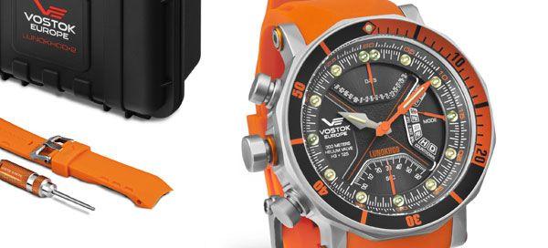 Lunokhod-2 da Vostok: a diferença nos relógios de mergulho