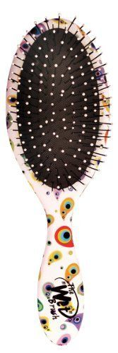 The Wet Brush Happy Hair Paisley - Rubberized Wet Detangle Shower Brush by The Wet. Save 55 Off!. $8.98. Soft, flexible bristles detangle hair with ease!. For thick, curly and straight hair!. Works great on wet and dry hair!. Wet Brush Happy Hair, the kids version of the massively popular Wet Brush, makes it more fun to brush.. Great brush + Kid friendly brush style = No more tears!. From the makers of the wildly popular Wet Brush, comes the Wet Brush Happy Hair series! A brus...