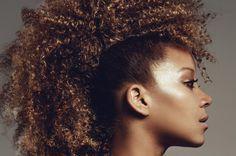 Tuto crête iroquoise sur #cheveux afros et métissés