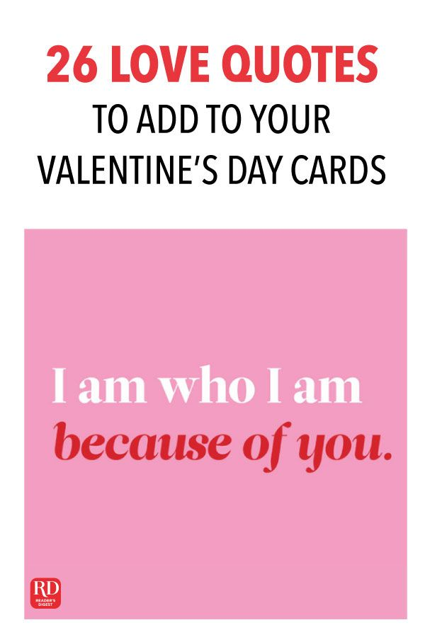 26 Love Quotes To Add To Your Valentine S Day Cards Valentine