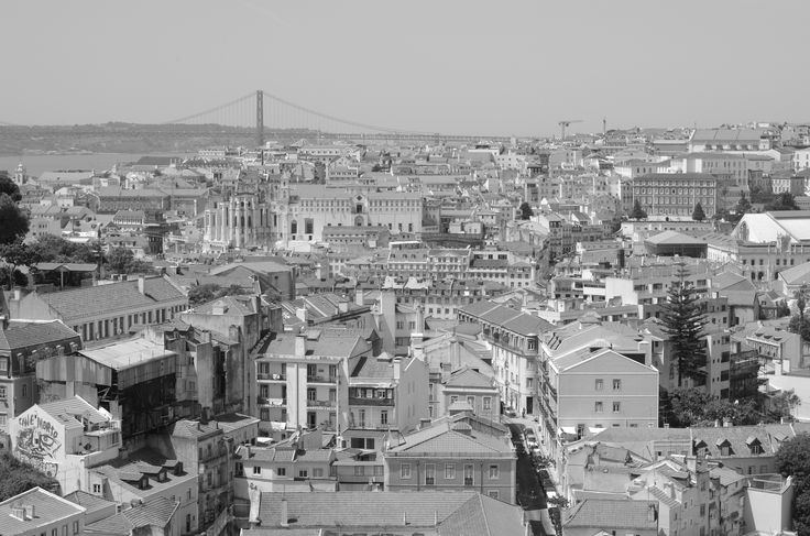 Lisbon in black and white by Jakub Hajost on 500px