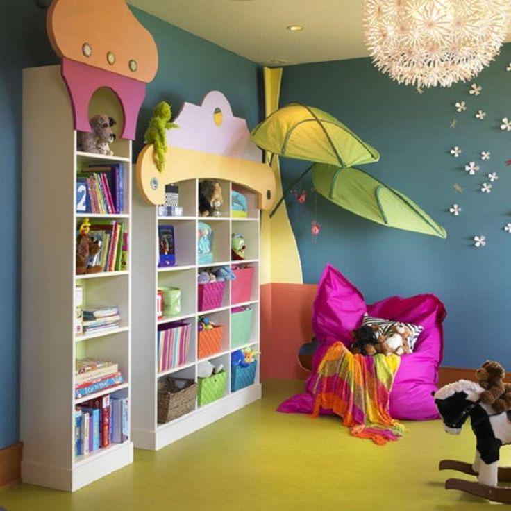 Arredare stanza giochi bambini -cuscino per lettura