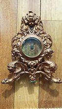 антикварные каминные часы модерн Херувим грифоны эстетическое движение 1902