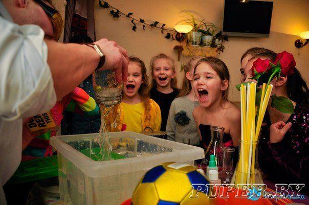 Научное шоу на день рождения ребёнка - Беларусь , Могилев и Могилевская область , Могилев - Объявления, доска бесплатных частных объявлений Беларуси