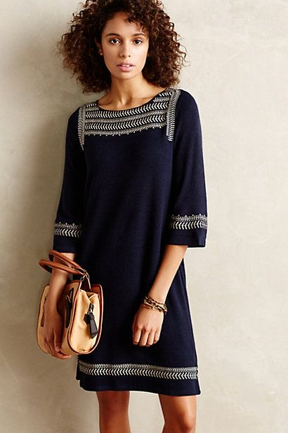 Anstice Tunic Dress #anthropologie #anthrofave