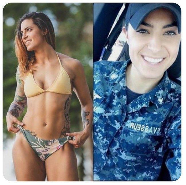 Hot army wife bikini