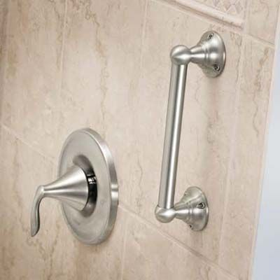 Trend: Safety! Add stylish grab bars so you can grow & remain independent in your home.  Get this #Bathroom #Remodel Trend with #ReBath! 1-800-BATHTUB