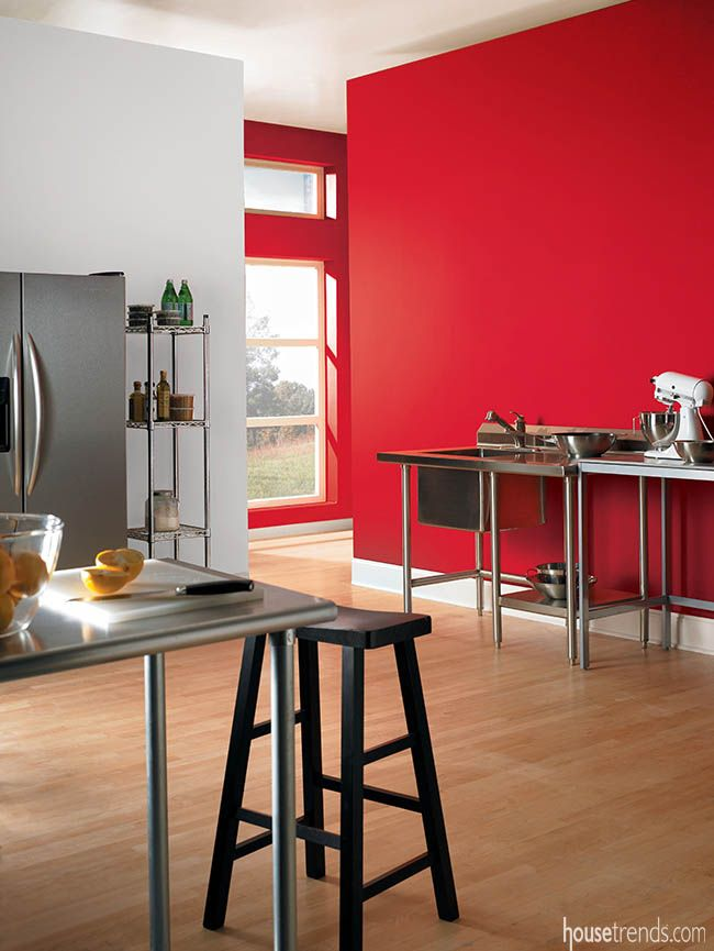 33 best Red Rooms images on Pinterest Red rooms Behr paint and