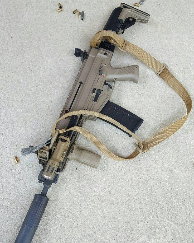 Epic rifle. Love it so much short! @czusafirearms 805 Bren #gunsdaily…