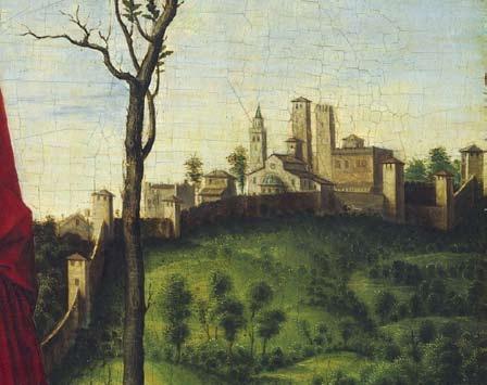 Giovan Battista Cima da Conegliano, Sant'Elena, Washington, National Gallery of Art, collezione Samuel H. Kress, detail.