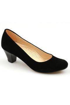Ccway 300 Süet Velvet 5Cm Günlük Bayan Topuklu Ayakkabı