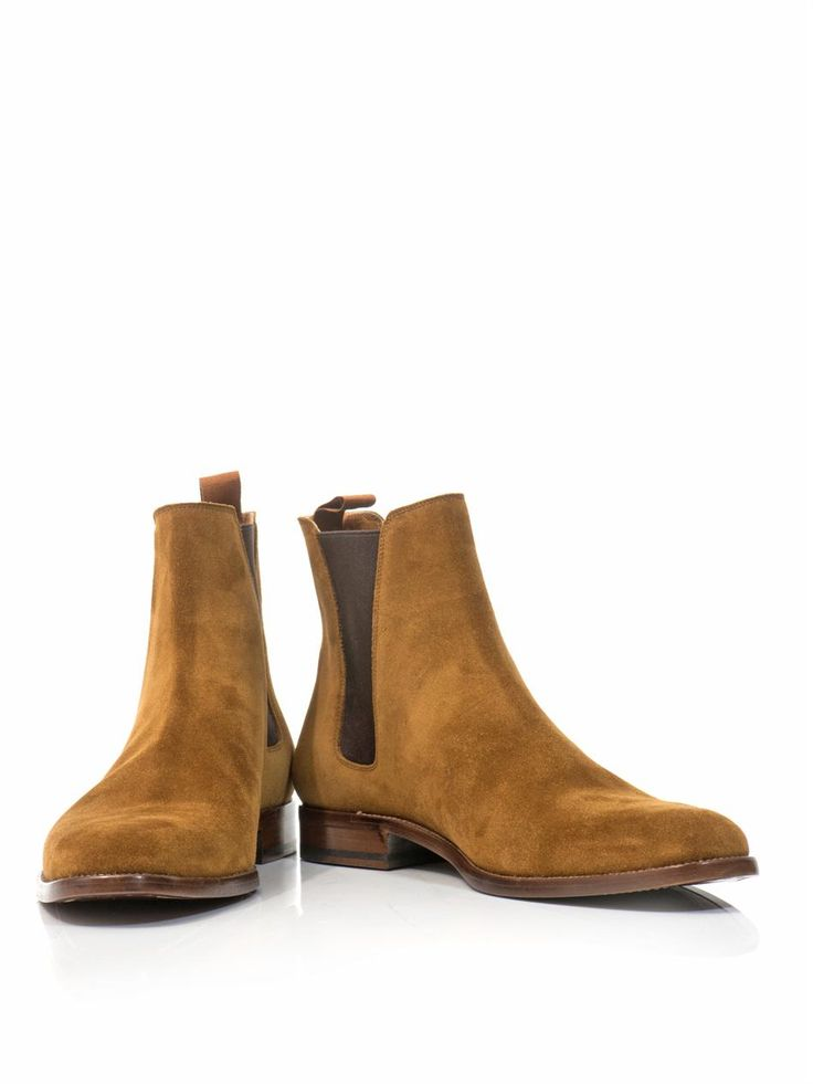 Suede Chelsea Boots Saint Laurent MATCHESFASHION Men