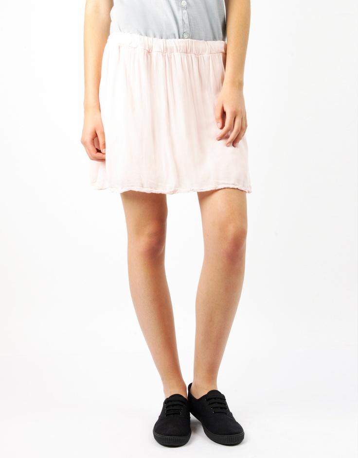 #Falda Corta #Lisa en rosa, azul y negro por 10€ en www.doubleagent.es #ropa #fashion #look