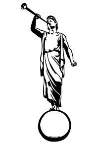 Moroni silhouette (LDS)                                                                                                                                                                                 Más