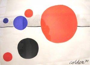 Emerging Globes (1971) via Beth Urdang Gallery