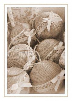 Vintage vianocne gulky by kattika82 - SAShE.sk - Handmade Vianoce