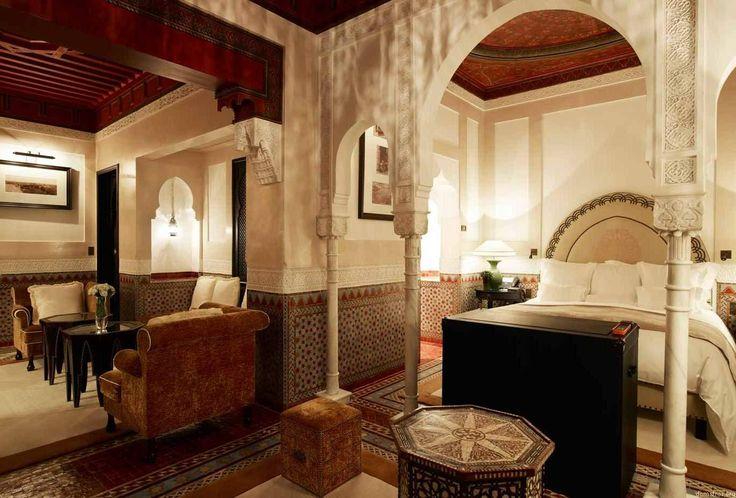 Марокканский дизайн интерьера