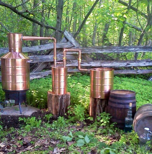 1000+ ideas about Moonshine Still on Pinterest | Copper ...