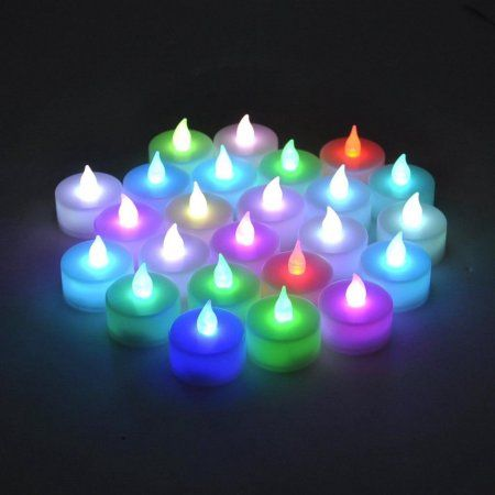 Free Shipping. Buy Instapark LCL-C-24 Battery-powered Flameless Pet-safe and Child-safe Wind-proof Indoor & Outdoor Decoration Color-changing LED Faux Accent Tea Light Candles, 2-Dozen per Pack at Walmart.com