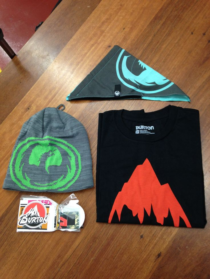 Who loves FREE STUFF!! Yeah we know you do. We've got a some cracking gear to give away on the eve. Here's a sneak peak at some goodies from our buddies at Burton Australia and Dragon Alliance. More to come!!