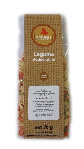 Dehydrated vegetables, 70 gr. - crazybanana.eu