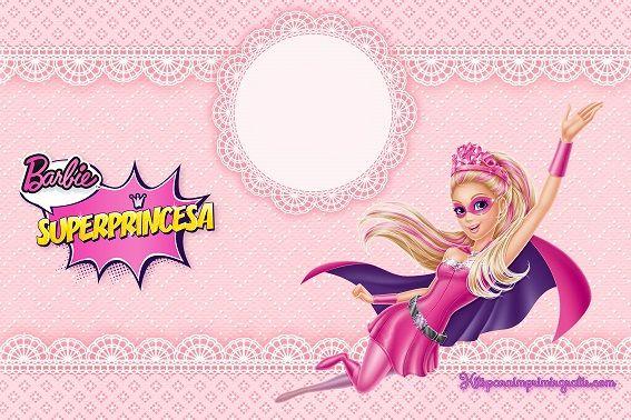 barbie super princesa decoracion - Buscar con Google