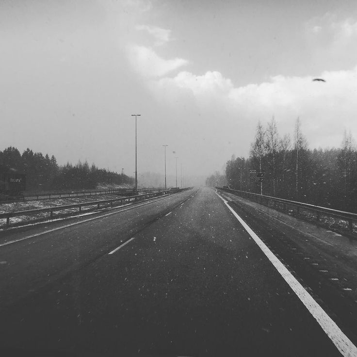 Driving in to hailstorm on the road to Helsinki in May #roadtrip #hail #rain #damp