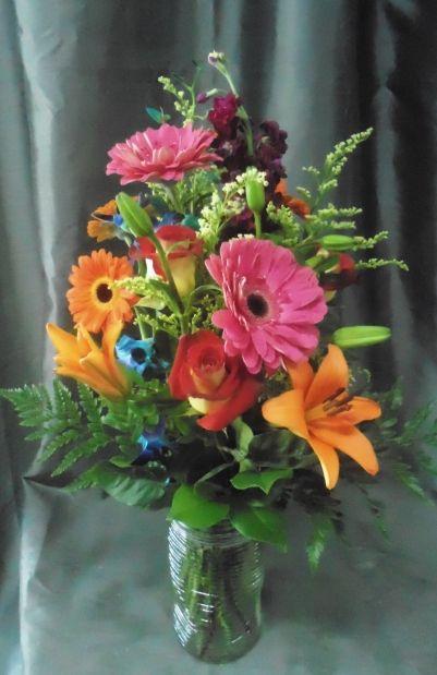 Buckets Flowers-Get Well Flowers-Abbotsford florist-Gerbera Daisy