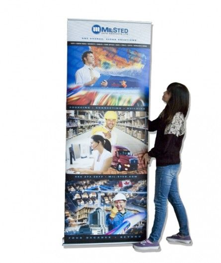 Mill-Sted Data Banner Tradeshow
