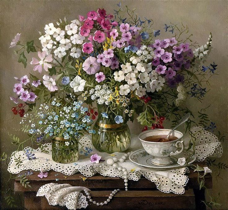 floralart.quenalbertini: Still Life Datsenko Lidia Ivanovna