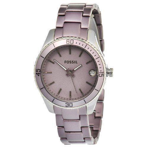 Montre pour femme : Fossil Women's ES3046 Stella Mini Stainless Purple Watch Fossil. $56.06. Qua