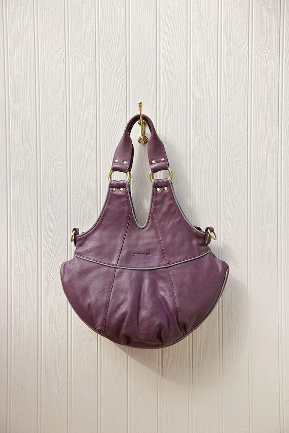 Aubrey leather tote bag Handmade real leather by leoniesaliba, $379.00