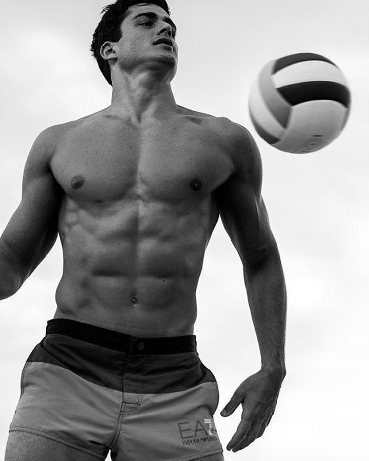 Pietro Boselli for Emporio Armani | | Le Male | Shirtless ... шайа лабаф