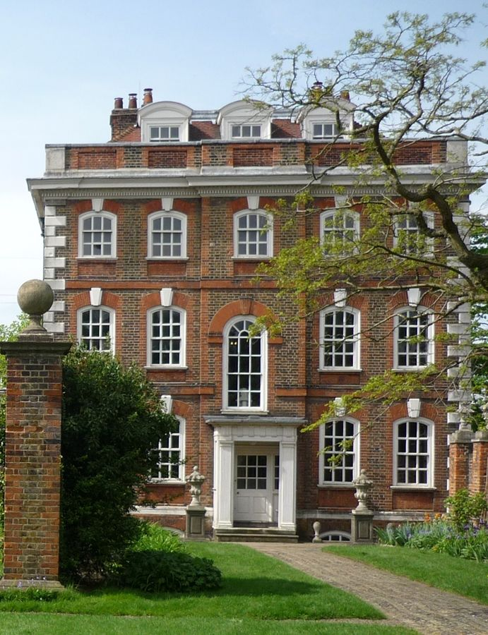 Rainham Hall Havering, Essex Mansion, English Queen Anne Property image from architects