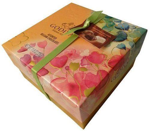 Godiva Belgian Chocolates Gift Box, Assorted, 27 Count - http://mygourmetgifts.com/godiva-belgian-chocolates-gift-box-assorted-27-count/