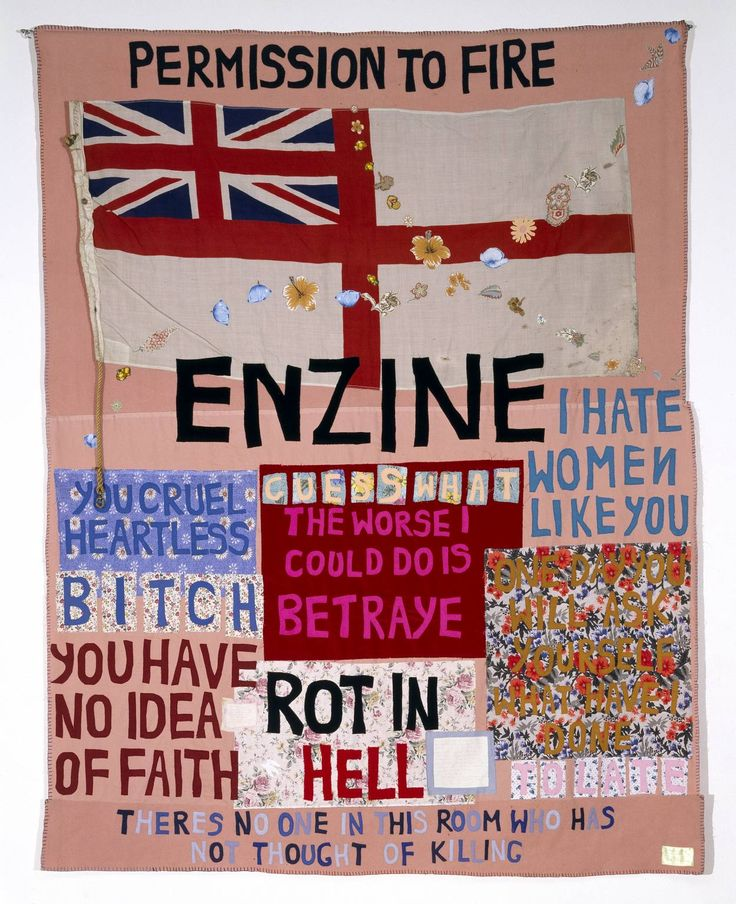 Tracey Emin, 'Hate and Power Can be a Terrible Thing' 2004